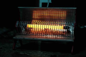 A picture of a portable heater