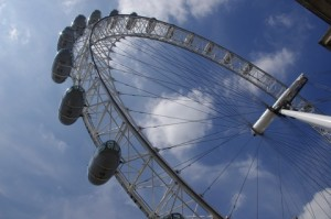 A picture of the London Eye