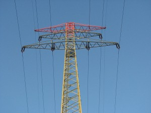 smart grid electrical: A photo of an electrical smart grid