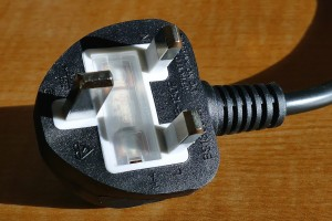 A picture of a plug